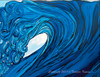 Original Surf Art by Tamara Kapan titled Frolic