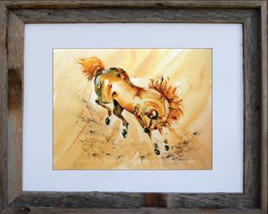 Golden Prince fine art print by Dotty Reiman