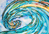 Wave Art by Tamara Kapan titled Liquid Glass