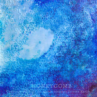 Wave Art Painting by Tamara Kapan titled Honeycomb