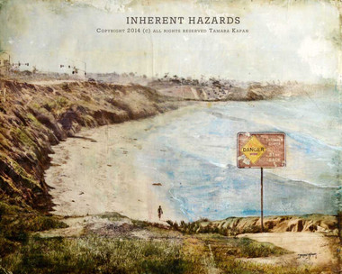 Surf Art Painting titled Inherent Hazards by Tamara Kapan