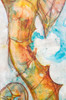 Close up of seahorse painting by Tamara Kapan