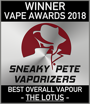 Winner Vape Awards 2018 Sneaky Pete Vaporizers