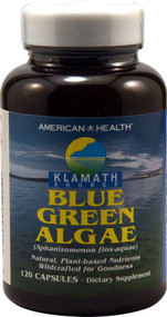 American Health, Blue Green Algae - 120 Capsules