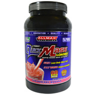 ALLMAX Nutrition, Quick Mass, Loaded, Rapid Mass Gain Catalyst, Strawberry-Banana, 3.3 lbs (1.5 kg)