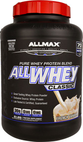 ALLMAX Nutrition ALLWHEY CLASSIC Pure Whey Protein Blend  French Vanilla - 5 lbs