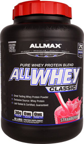 ALLMAX Nutrition ALLWHEY CLASSIC Pure Whey Protein Blend  Strawberry - 5 lbs