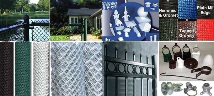 Chain link Fence - Commercial - Residential - Chain link Fencing supplies & Parts