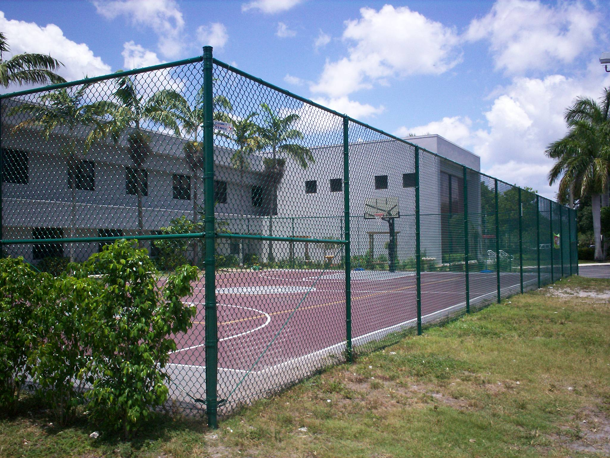 Tennis Court Fence Packages Complete