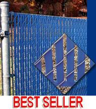 "Fence Slat Privacy Bottom Lock - for 2"" & 2-1/4"" Chain link mesh - Price is per 10ft bag"