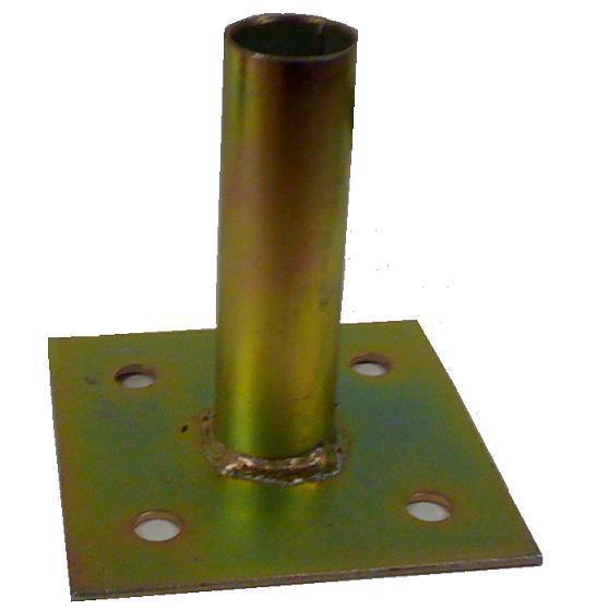 Concrete Surface Mount Floor Flange Ps Post Mount 1 3 8