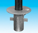Handrail fitting - Ground Socket Flange - HR 17