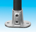 Handrail fitting - Railing Flange - HR 12