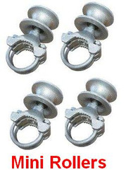 "Mini Cantilever Rollers for 1-5/8"" Gate Frame 2-1/2"" Posts"