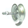 No Fall Type - Rolling Gate Track Wheel- Pressed Steel