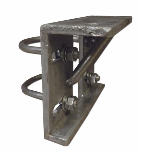 Slide Gate Trolley Round Pipe Bracket 4""