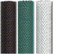 "Tennis Fence Mesh ONLY - Chain link 1-3/4"" x 9 ga x 10 ft High & 12 ft High, 30 ft Roll"
