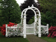 Vinyl Arbor Ashbury,Gate & Wings