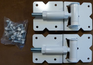 Vinyl Fence Gate Hinges White