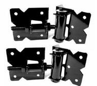 Vinyl Gate Hinge set Self Closing Adjustable Vinyl Fence