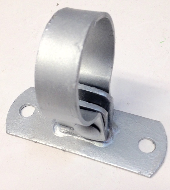 Wall Mount Post Band Bracket Fence Material