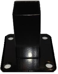 """Square Post Surface Mount - Internal for 2""""Square Post"""