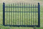 Black Vinyl Fence 4 ft x 6 ft BSL-31