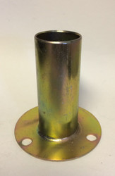 "Concrete surface mount Floor Flange PS. Post Mount 1-3/8""& 1-5/8"" Posts. Round Plate"