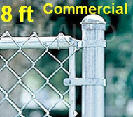 8 ft Galvanized Commercial System