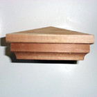 "Cedar Fence Post Cap - 4"" and 5"" sq."