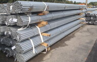 Fence Pipe - 20 Wt Galvanized 21ft & 24ft Long