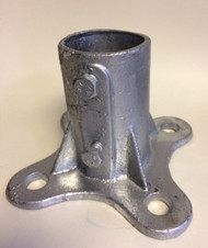 "CHAIN LINK POST SURFACE CONCRETE MOUNT 2-1/2"" & 3"" Post sizes (FFLM)"