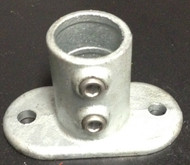 "Concrete Floor Surface Mount for 1-5/8"" Post"