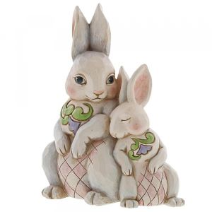 Snuggling Easter Bunnies 22cm