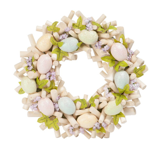 Pastel Easter Twig Wreath