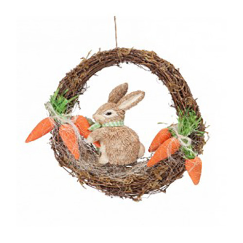 Happy Bunny Easter  Wreath