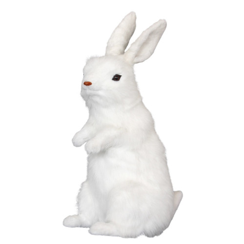 Bunny our Lifelike White Rabbit