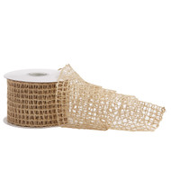 Loose Weave Hessian Ribbon