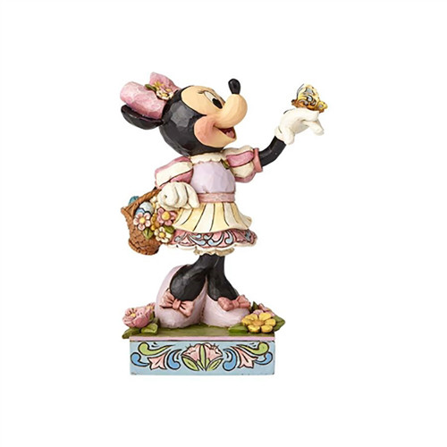 Jim Shore Easter Minnie Mouse