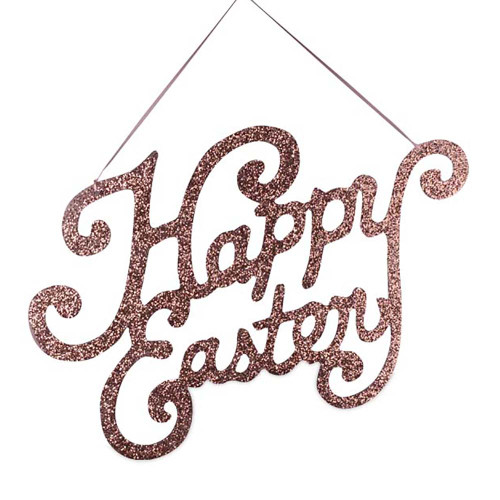 Bethany Lowe Happy Easter Sign