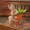 Bethany Lowe Natural Grass Bunny w Carrot