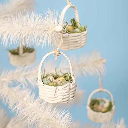 Bethany Lowe Mini Easter Basket Ornament