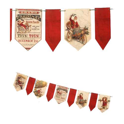 Bethany Lowe Grand Christmas Expedition Banner