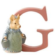 Beatrix Potter - Letter G Aunt Pettitoes - 7cm