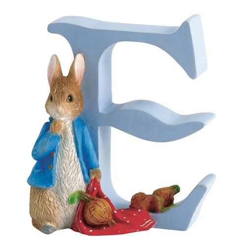 Beatrix Potter - Letter E Peter Rabbit with Onions