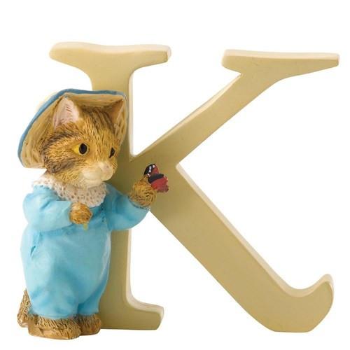 Beatrix Potter Classic - Letter K Tom Kitten Figurine