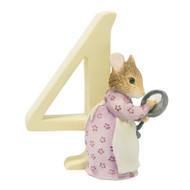 Beatrix Potter Number 4 - Hunca Munca Figurine - 7cm