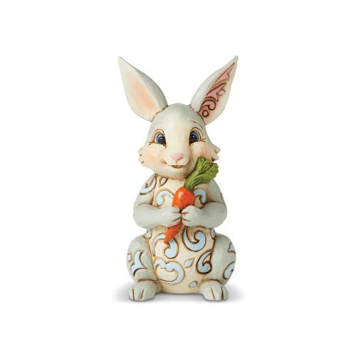 Jim Shore Mini Bunny With Carrot