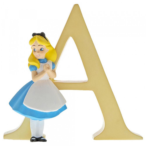Disney Letter A - Alice in Wonderland