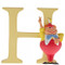 Disney Letter H Tweedle Dee